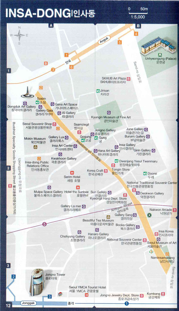 insadong-seoul-english-map